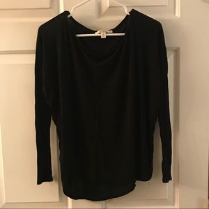 miami Tops - Black dolman sleeve top